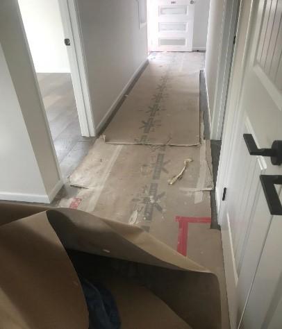 Builders clean - Before